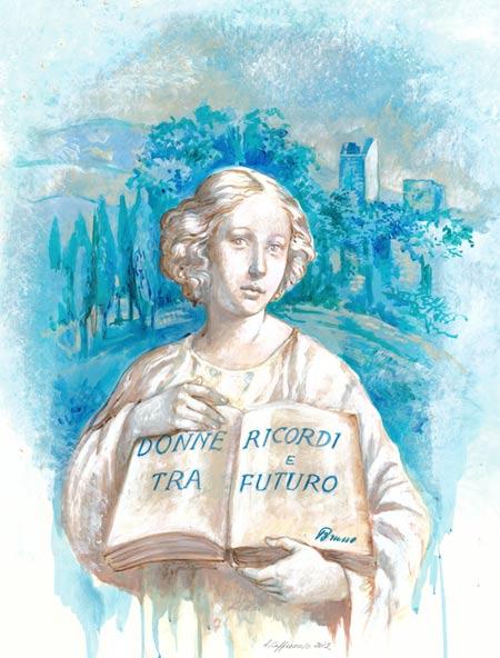 """""""La donna senza tempo"""" di Antonella Cappuccio (clicca per info)"""